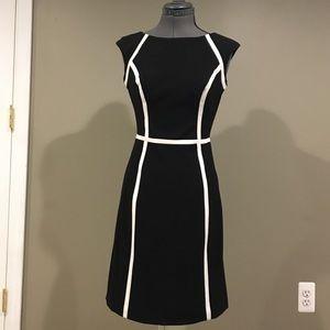 Chaps midi Dress Size 2